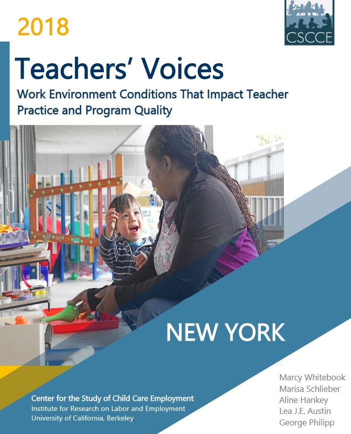 New Report State Of Learning >> New Report On New York State Early Learning Workforce Highlights